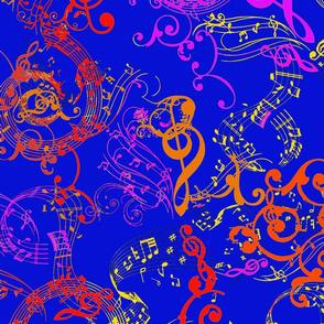 Victorian Music - Navy