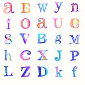 Cosmic Alphabet Baby Blocks