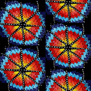 Native American Beadwork Medallions