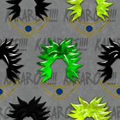 Broly Head Pattern Dragon Ball Inspired