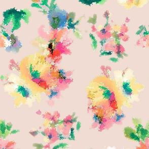 Digital flower print
