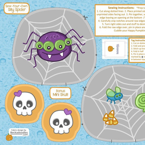 Sew Your Own Spider Pillow