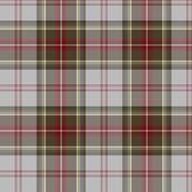 """Stewart/Stuart tartan #4, 8"""" grey ground"""