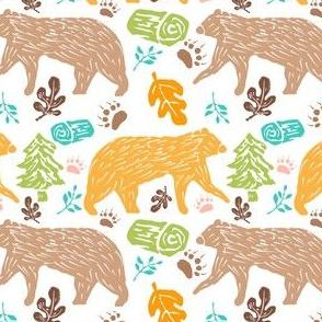 Walking Bears 2
