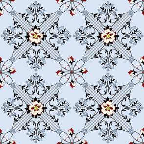 Springport: Victorian Geometric Floral