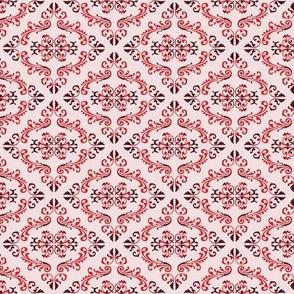 Victorian Red medium scale