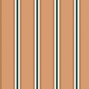 Tan Green And Cream Stripes