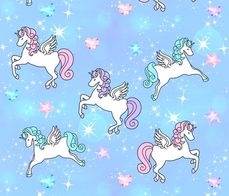 Rspoonflower-unicorn-gems-light-blue_shop_preview