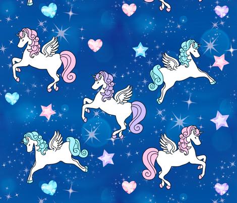 1 Pegasus Winged Unicorns Pegacorns Glitter Sparkles Stars Universe