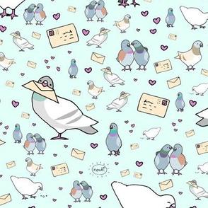 Messenger Pigeons