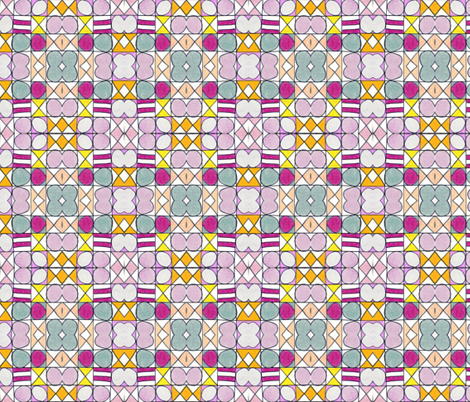 Tiles fabric by unclemamma on Spoonflower - custom fabric