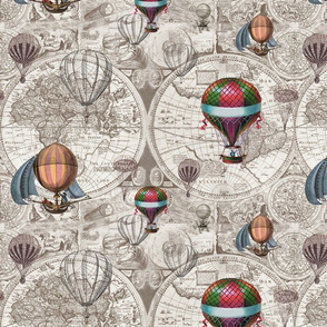 Hot Air Balloons Light Version