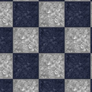 dark blue & gray marble tiles