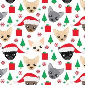Chihuahua Christmas Pattern
