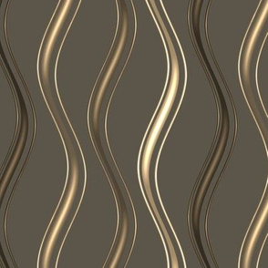 gold and brown vertical waves narrow