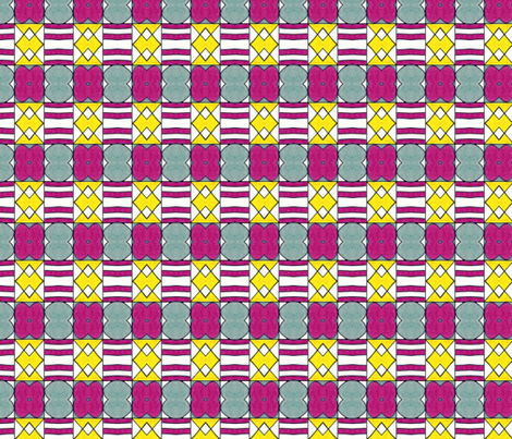 X&O x2 fabric by unclemamma on Spoonflower - custom fabric