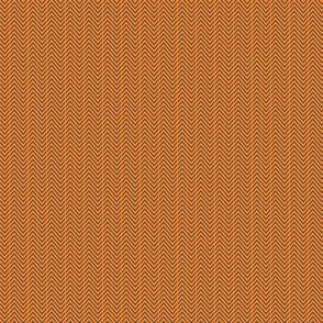 Herringbone-vertical-charcoal/orange