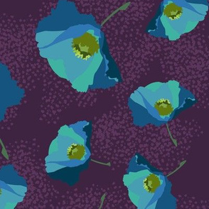 Poppies Small Blue-01-01