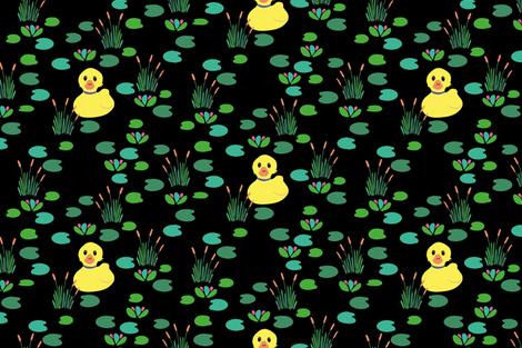 Little Duck fabric by jaanahalme on Spoonflower - custom fabric