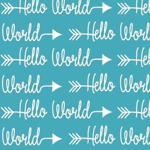 Hello World - Teal