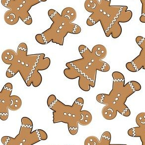 gingerbread man cookie toss