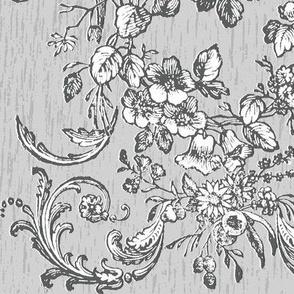 woodcut boquet