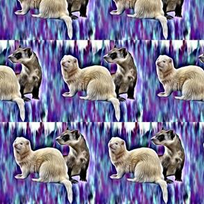 ferrets fabric