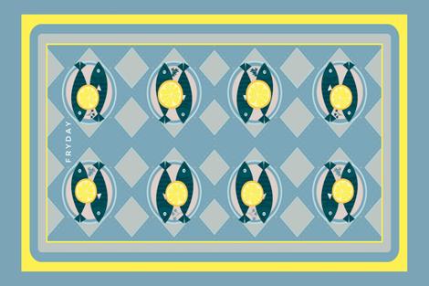 Fryday fabric by theitsiegypsy on Spoonflower - custom fabric