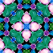 Mistycal Aquarell Kaleidoscope