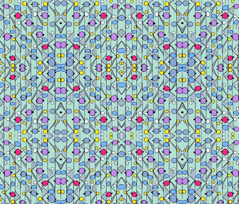 Bright lights fabric by unclemamma on Spoonflower - custom fabric