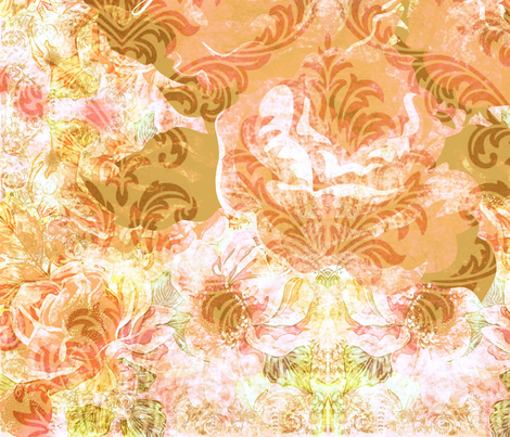 My love is a rose fabric by theitsiegypsy on Spoonflower - custom fabric