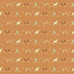 Elk Arrows Antlers- 1 Inch Collar
