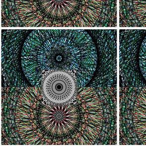 Mandala Cool colors