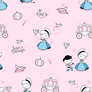 Cinderella - pink