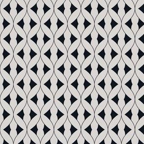 Art Deco silver geometric 2