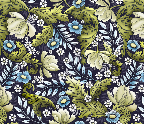 Victorian Era fabric by whimsical_brush on Spoonflower - custom fabric
