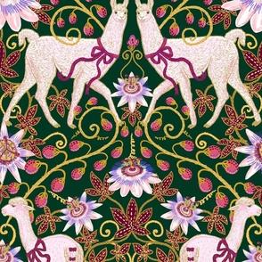 Madamas Llamas (Royal Green) XL