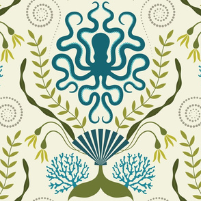 Nautical Damask