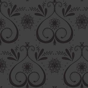 doodle damask-ed