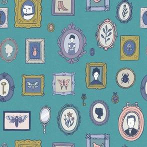 Victorian wall decor
