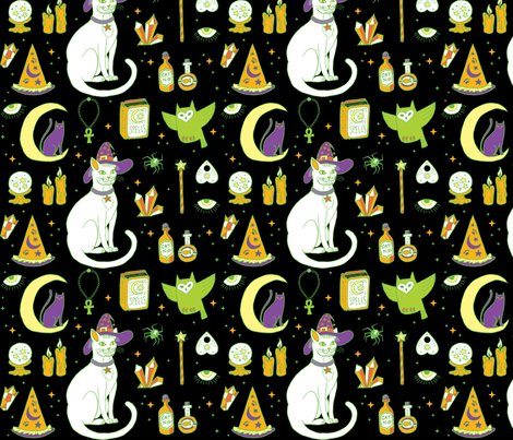 Mystical-cats-halloween-in_black-and-green_shop_preview