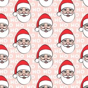 Santa Claus - pink ho ho ho - Christmas
