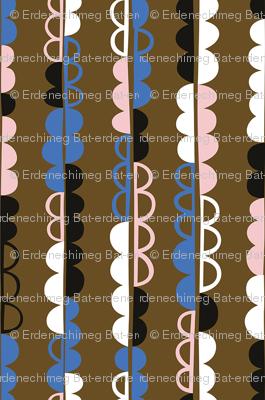 Semicircle pattern 3