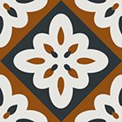 Abstract geometric tile 3