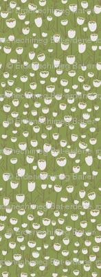 Tulips field (green)