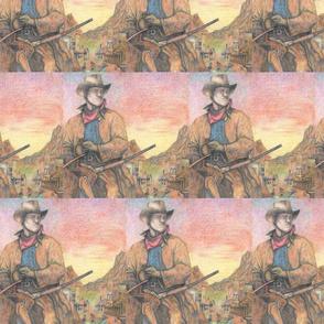 Cowboy Western Town