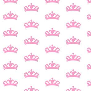 tiara LARGE 415- pink