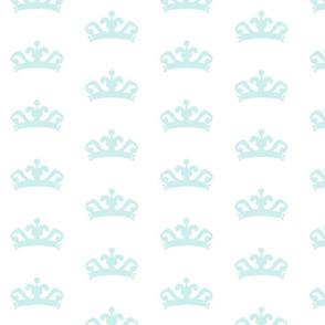 tiara LARGE 415- seaglass
