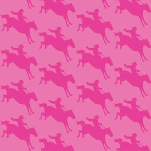 Rodeo Cowboys - Pink on Pink