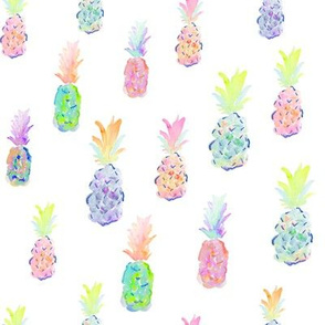 indy bloom design pineapple party white